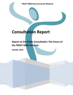 TREAT-NMD Consultation Report